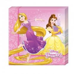 """Princesses """"Serviettes"""" 20pcs"""