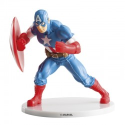 Figure décorative Capitaine America - 9cm
