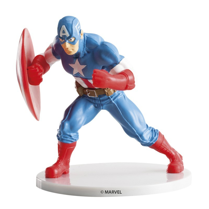 Figure décorative Capitaine America - 9cm