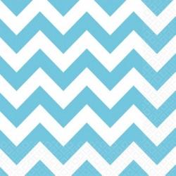 """Serviettes colorées """"Bleu"""" - 20pcs"""