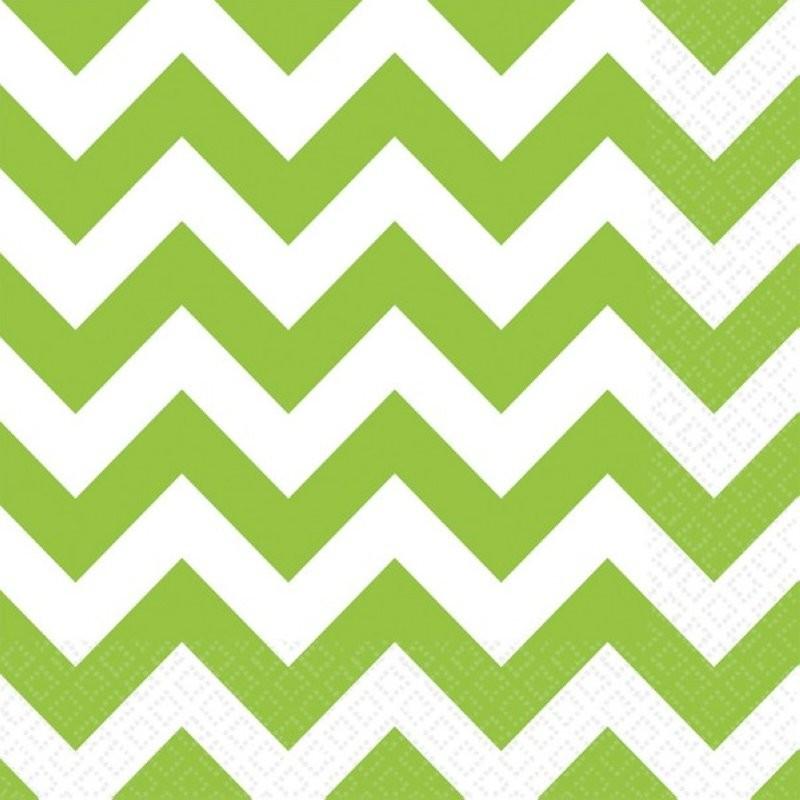 """Serviettes colorées """"Vert"""" - 20pcs"""