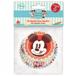 """caissettes en papier """"Mickey"""" - pcs/60"""