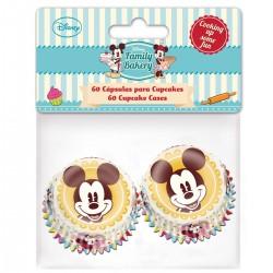 """Mini caissettes en papier """"Mickey"""" - pcs/60"""