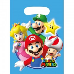 "Super Mario ""Sachets party"" - 8pcs"