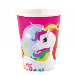 "Licorne ""gobelets"" - 8pcs - 266ml"