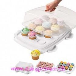 "Boîte de rangement Cupcake ""Ultimate 3-IN-1"""