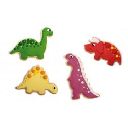 "emportes-pièces ""Dinosaures"" - 4pcs"