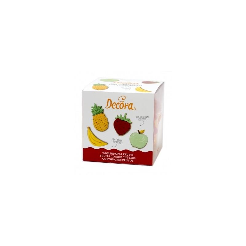 """emportes-pièces """"Fruits"""" - 4pcs"""