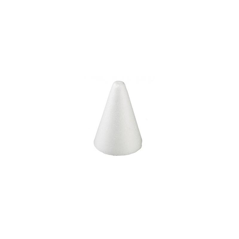 Cone en Polystyrène 9cm x10cm H