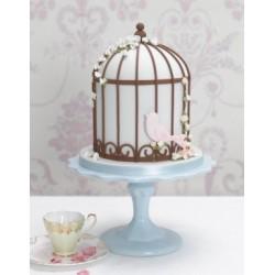 Cage à oiseau en Polystyrène 12.5 x 9 dia.