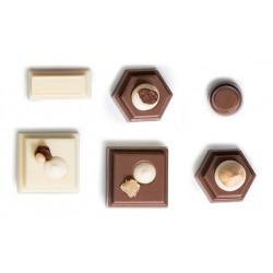 """Moule à chocolats """"Géometrique"""""""