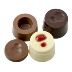 """Moule à chocolats """"Cercles modulaires"""""""