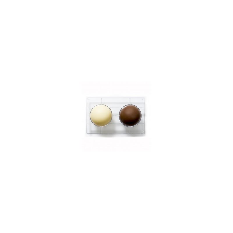 """Moule à chocolats """"Demi-Sphère 10cm"""""""