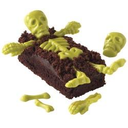 "Moule à chocolat ""Squelettes"", pirate, halloween"