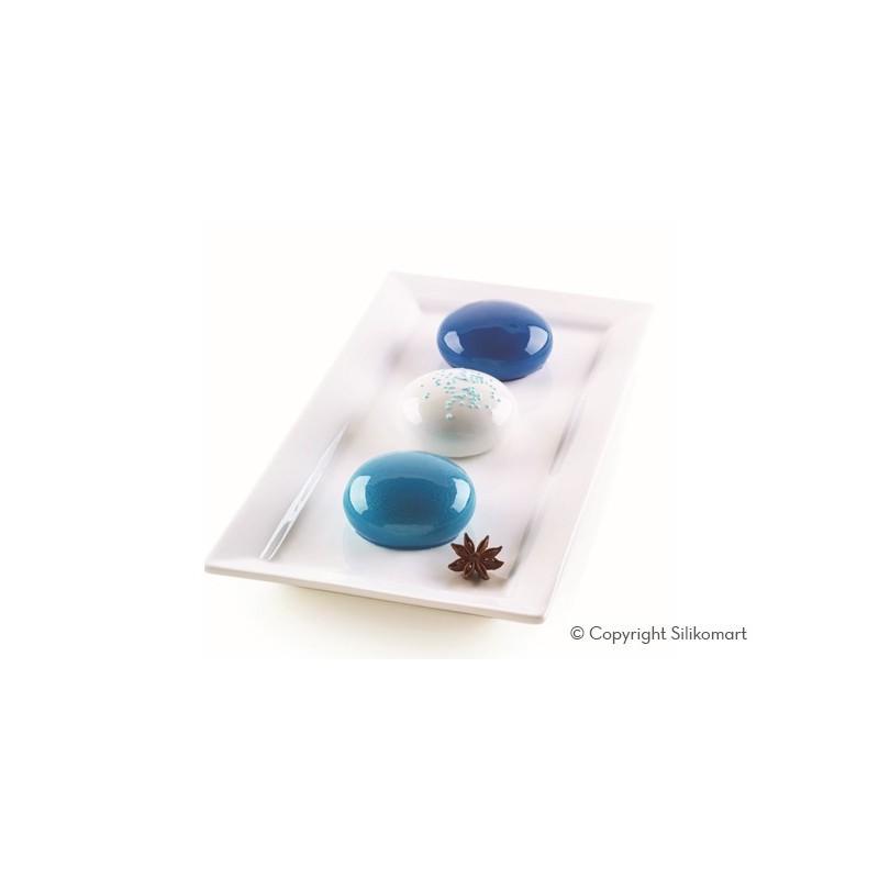 Mini Goccia - Moule en silicone, moule silicone petit entremets rond, moule goutte d'eau