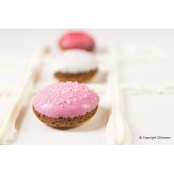 Mini Goccia - Moule en silicone, moule demi-sphère, moule silicone demi-sphère, moule pour biscuits ou entremets rond
