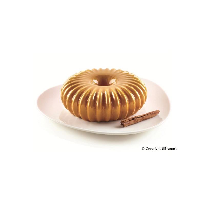 Raggio - Moule en silicone, moule forme de courge, moule Raggio, moule entremet couronne,