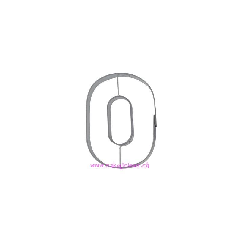 Emporte-pièce Numéro 0 -  6,5cm - ACTION