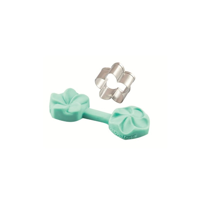 Fleur Frangipane, emporte-pièce fleur massepin, emporte-pièce fleurs pâte à sucre, moule silicone fleurs,