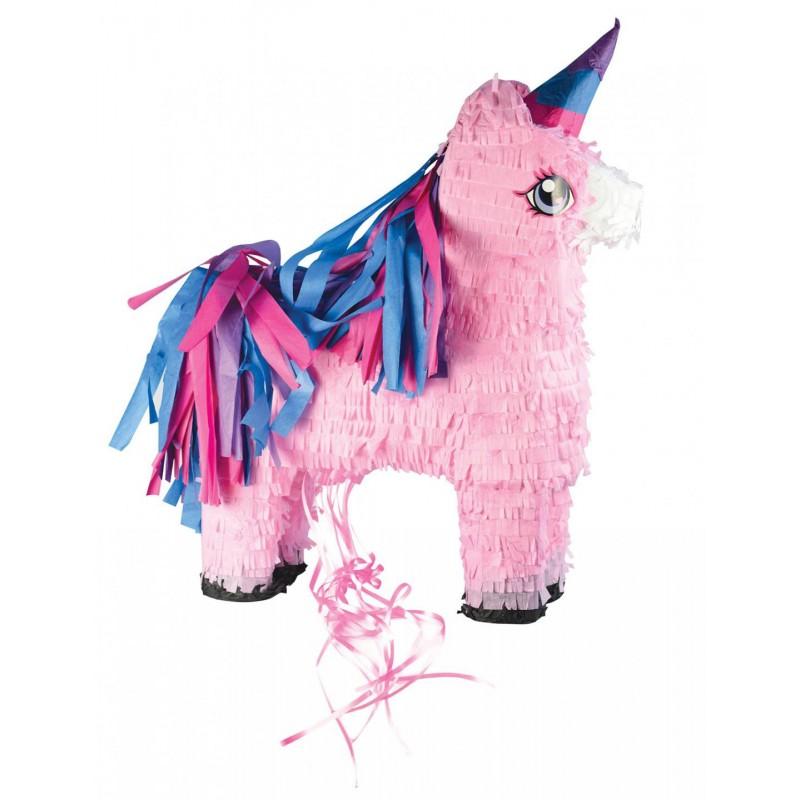 "Pinata ""Licorne"", fête avec une licorne, pinata, bonbons, anniversaire licorne, pinat rose, licorne rose, licorne et bonbons"