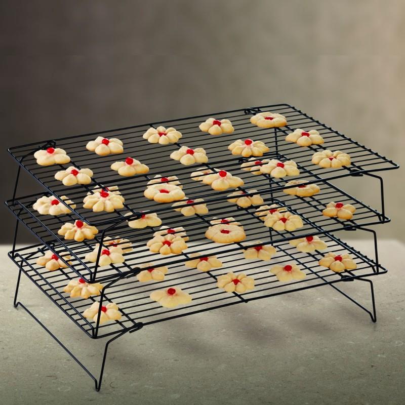 grille pour biscuits, set de grilles pour biscuits, grille de refroidissement, grilles de refroidissement pour gâteau,