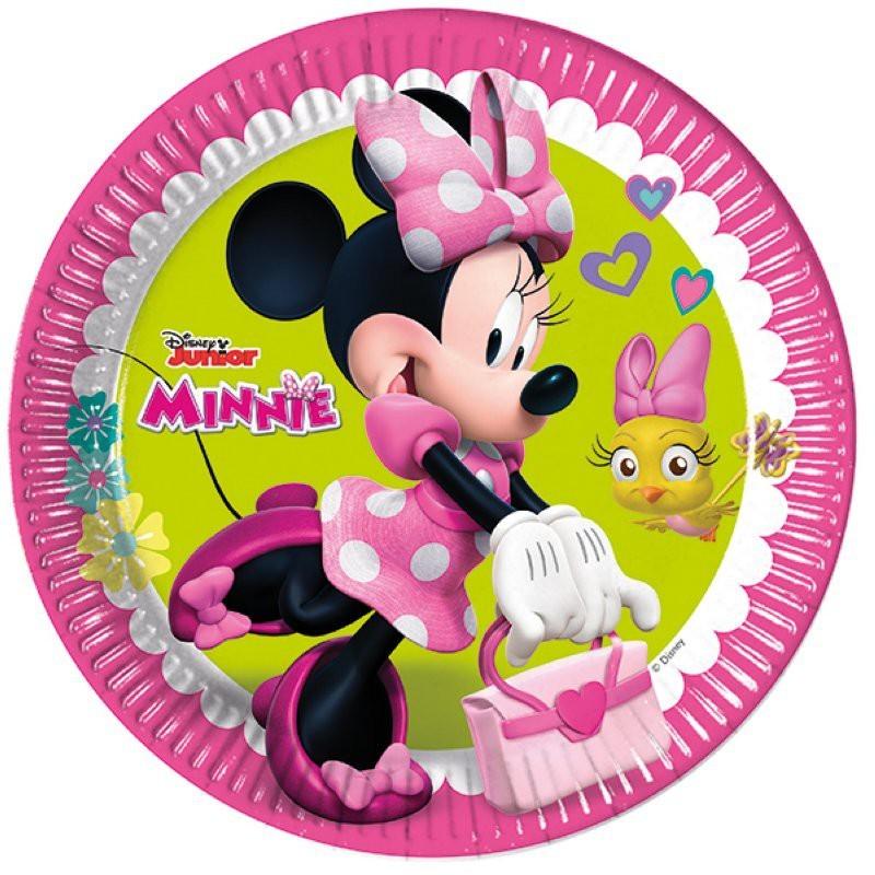 """Minnie """"assiettes"""" - 8pcs"""