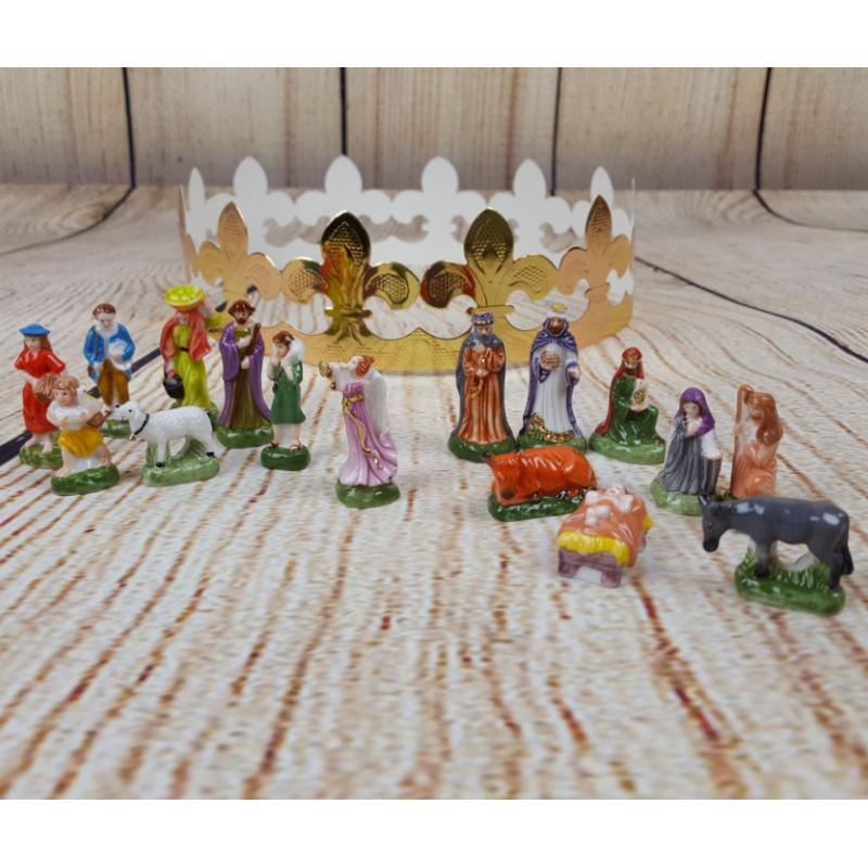 fèves, fèves couronne des rois, fèves de noël, fèves crèche, fèves thème de noël, fèves religieuse, fèves rois mages, fèves peti