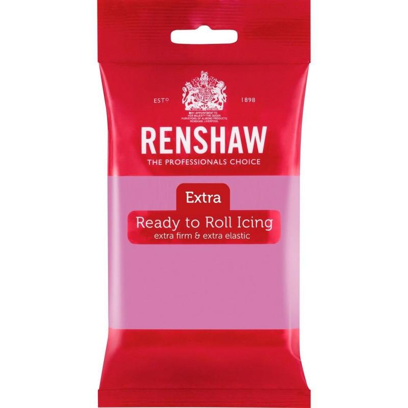 pâte à sucre Renshaw lila, pâte à sucre extra lila, renshaw lila, petit paquet pâte à sucre lila