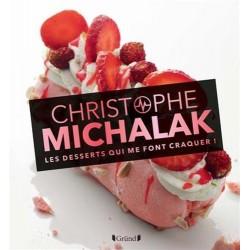 Livre - Michalak - Dessert qui me font craquer, recette Michalak,