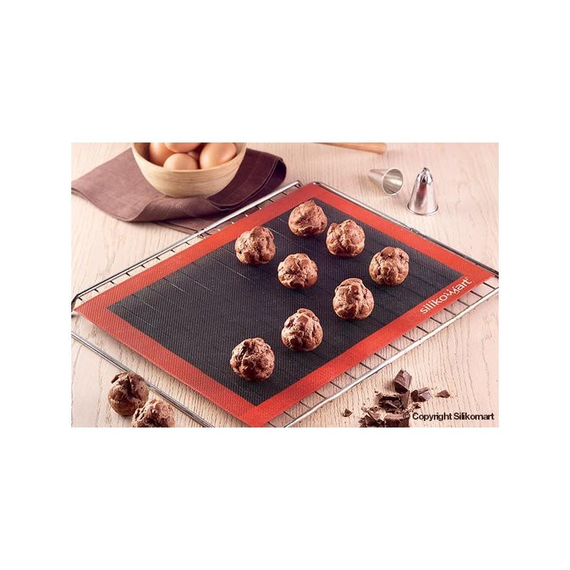 Tapis en silicone perforé, tapis à pâtisserie, tapis cuisson uniforme, tapis silicone