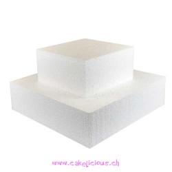 Cake Dummy Carré 25 x 25 cm - 7 cm