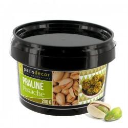 Pâte de praliné de pistaches, praliné pistache, praliné pistache pâtisserie