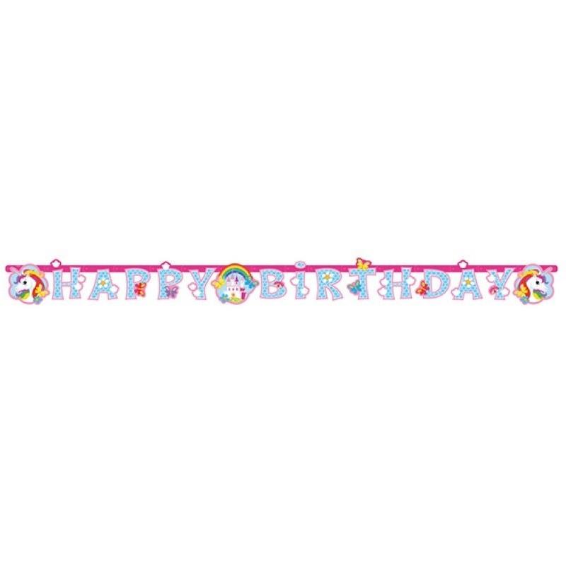 guirlande Licorne, anniversaire Licorne, décoration anniversaire licorne,