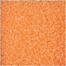 Sucre Coloré orange, sucre à soupoudré orange, sucre de décoration orange, sucre pour faire un effet sable, sucre orange effet s