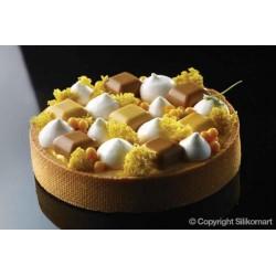 moule silicone mini perles, moules mini perles pour entremet, mini perles facile, décorer votre entremet mini perles, plaque mou
