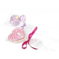 Sachets pour biscuits, sachet sucette, sachet bonbons, sachet transparent bonbons, sachets transparent pour sucette, sachet tran