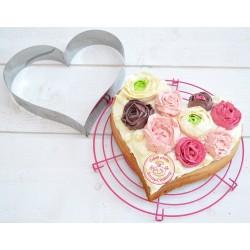gâteau lcoeur, gâteau amour, cadre gâteau coeur, gâteau forme coeur,