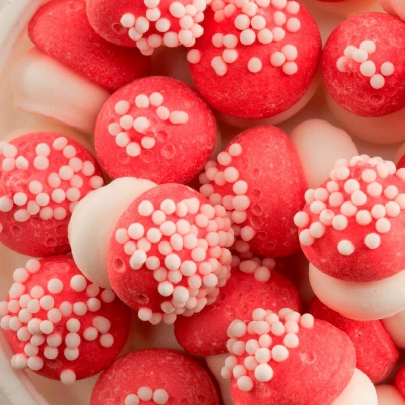 mini champignons en sucre, champignons de décoration, mini champignons de décorations, champignons en sucre pour gâteaux, mini c
