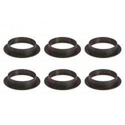 cercle perforé, petit cercles perforés, mini cercle perforés, cercle pour tartelettes