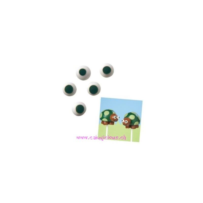 "Candy ""Yeux"" 1cm pk/56"