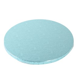 "Plateau Rond ""Baby Blue"" 25 cm - 10 mm"