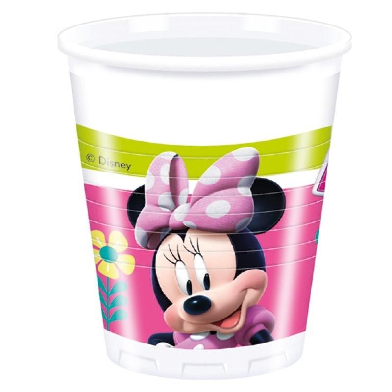 "Minnie ""Gobelets"" - 8pcs"