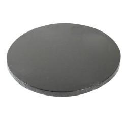 """Plateau Rond """"Noir"""" 25 cm - 10 mm"""