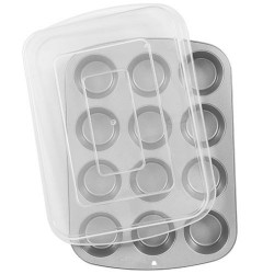 Moule à muffins avec couvercle, moule à cupcake, boîte à cupacke, bîte à muffins, boîte de transport muffins, boîte de transport