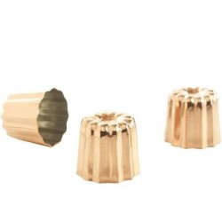 Moule à cannelé cuivre, cannelés faciles à faire, moule cuivre, cannelés, set de moule à cannelé