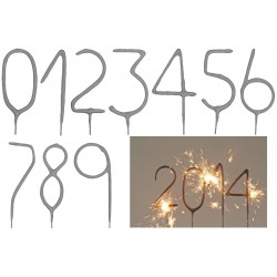 bougie magiques numérique, bougie à chiffre, bougies pétillantes numéro, bougie pétillante, bougie numero