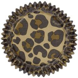 """Caissettes """"Leopard"""" pk/36"""
