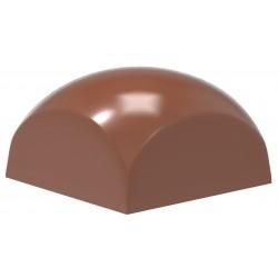 moule chocolat pour sphère carrée, moule shères carrées,
