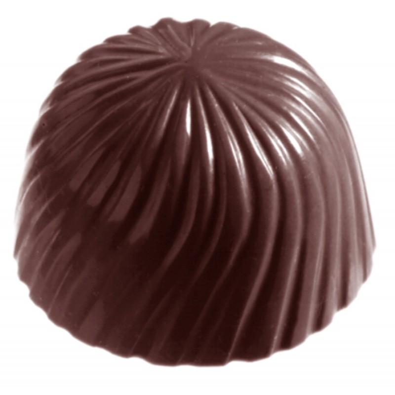 Moule chocolat cap bonbon rose 29mm