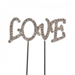 """Décoration """"Love"""", topper Love , décoration gâteau love,"""